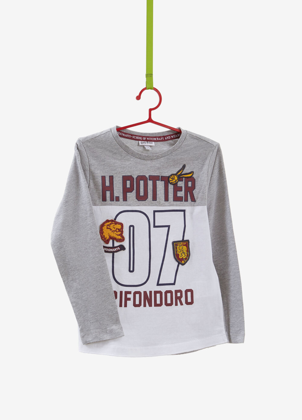 T-shirt misto cotone stampa Harry Potter