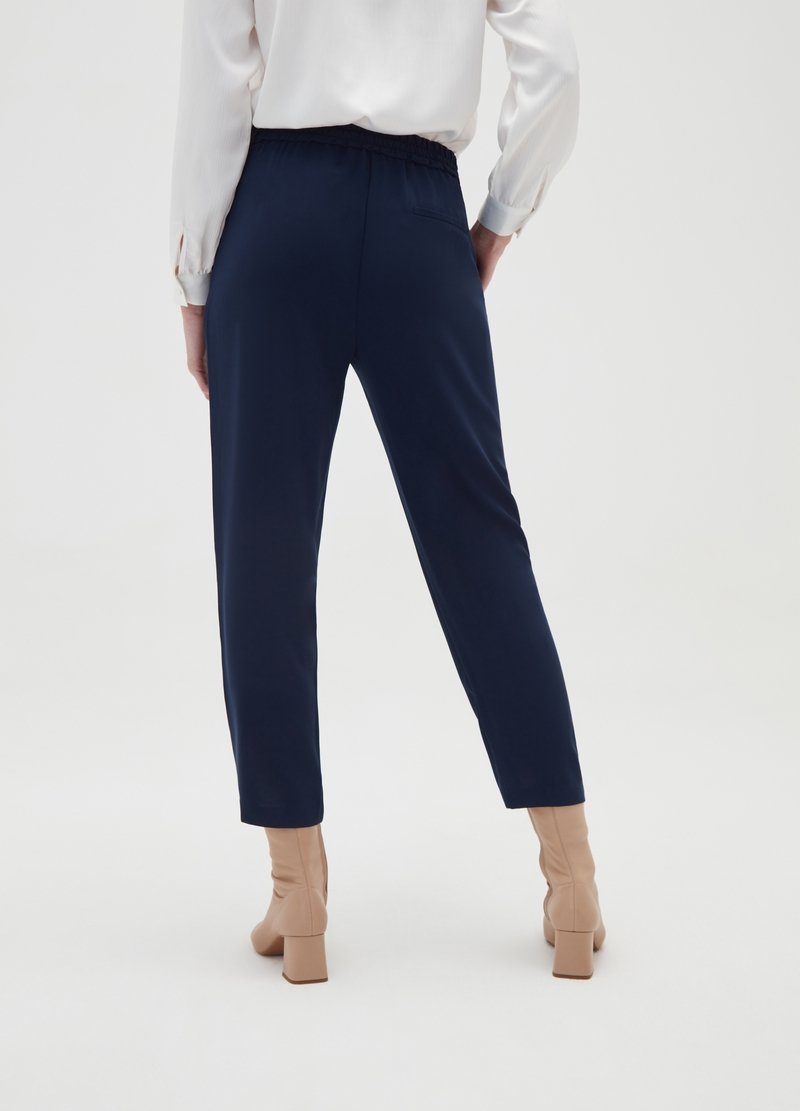 Solid colour joggers with pockets image number null