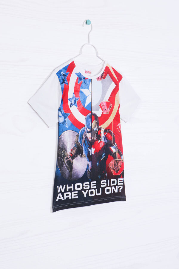 T-shirt puro cotone stampa Marvel | OVS