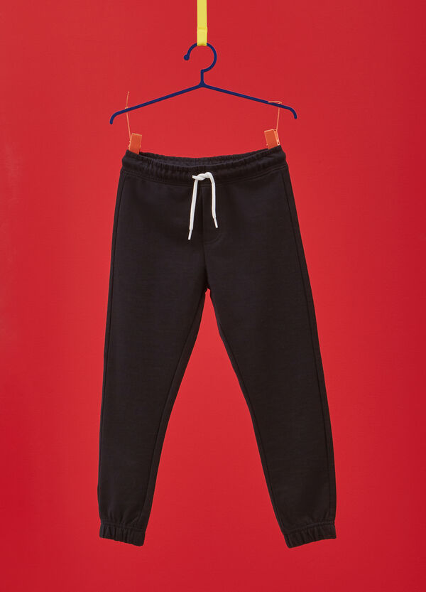 100% cotton joggers with drawstring