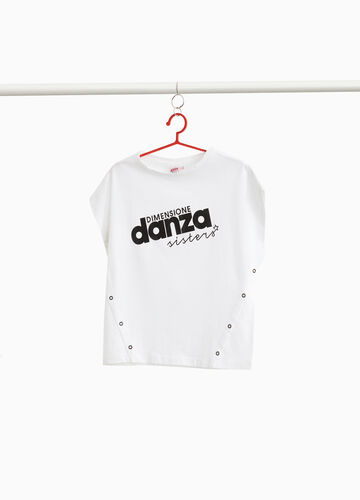 Dimensione Danza T-shirt with eyelets