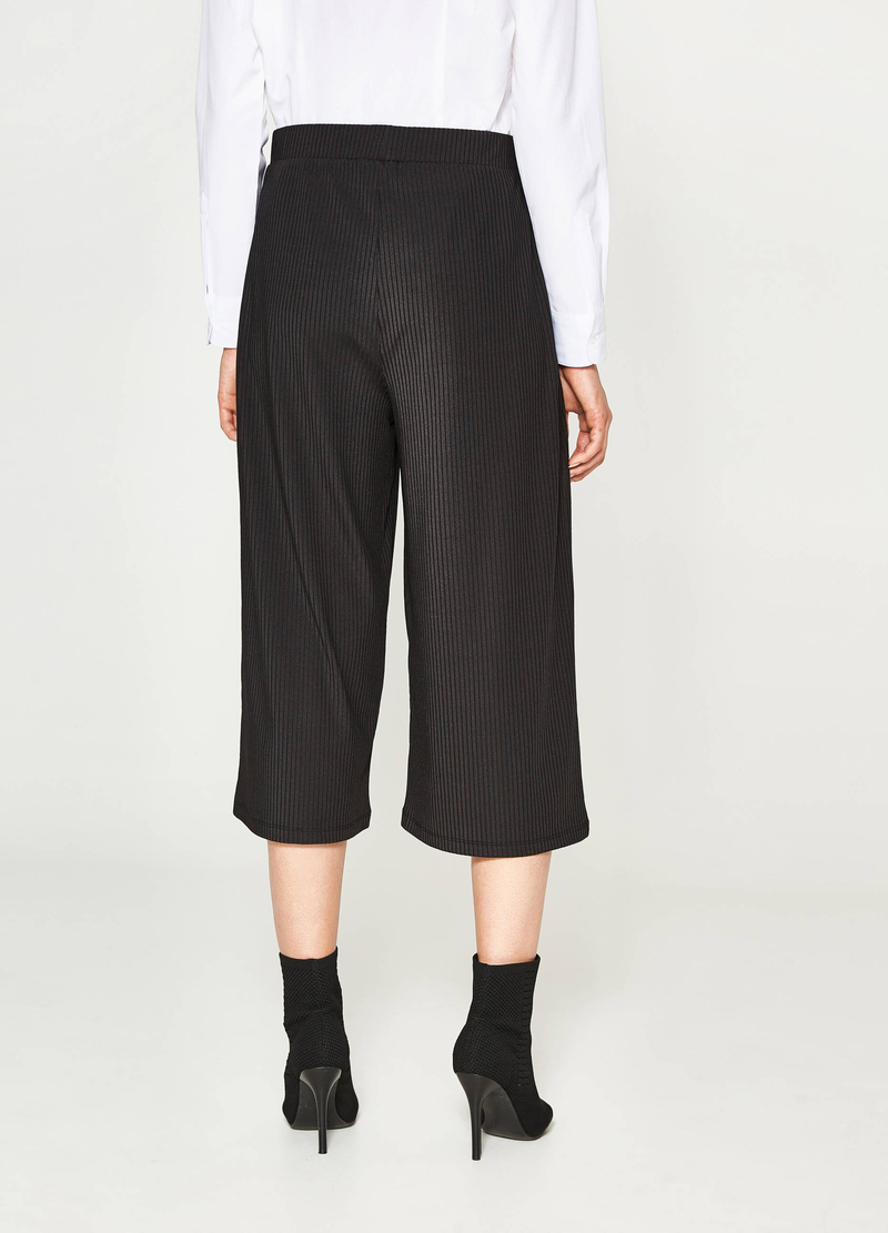 Gaucho model striped trousers image number null