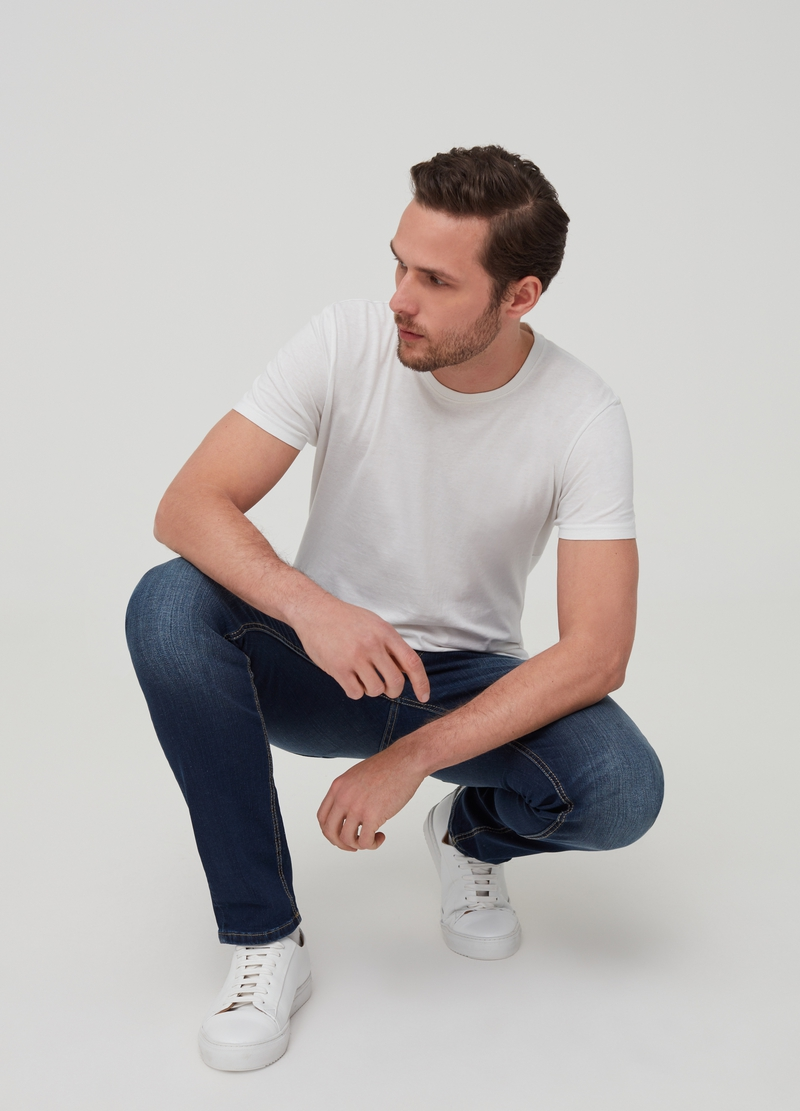 Jeans slim fit stretch image number null