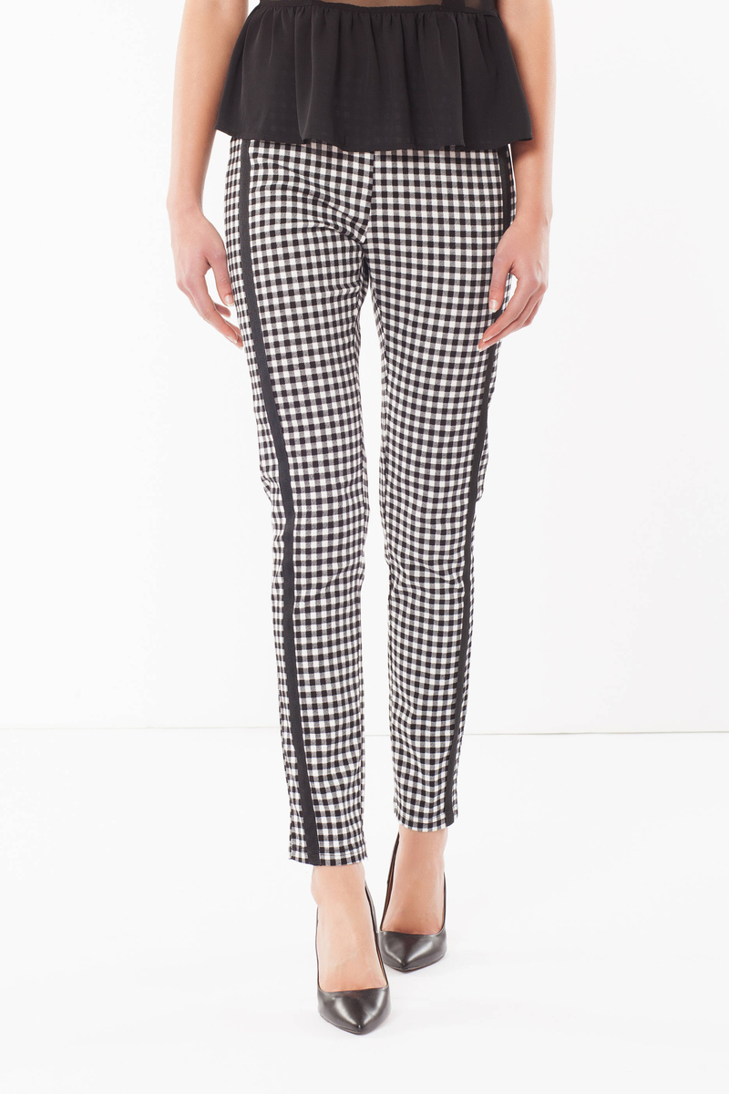 Leggings a quadri image number null