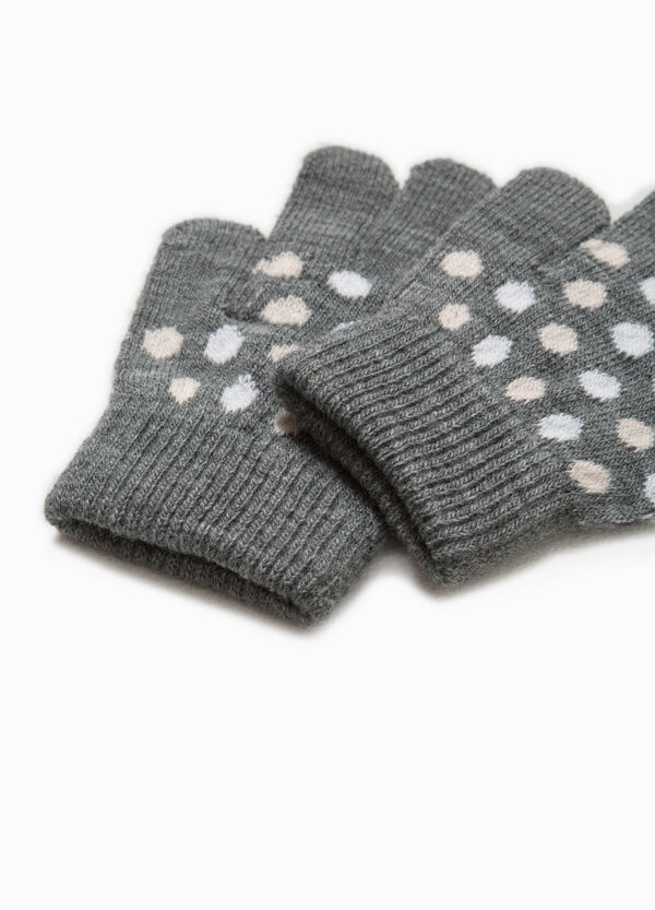 Polka dot patterned gloves | OVS