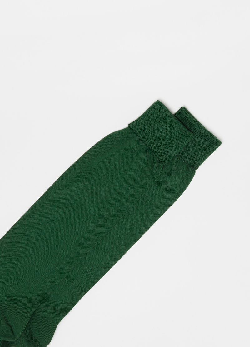 PIOMBO long socks in Supima cotton image number null
