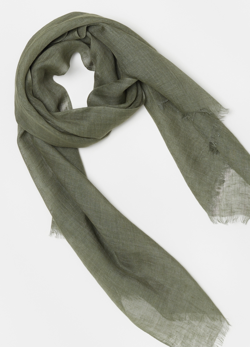 PIOMBO 100% linen scarf image number null
