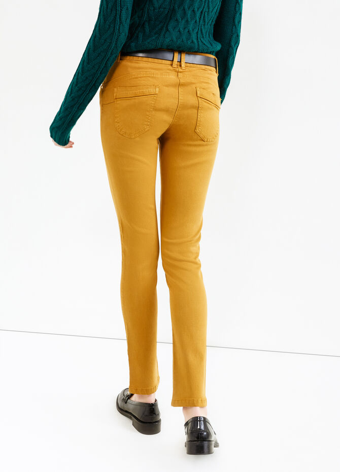 Pantaloni viscosa e cotone stretch