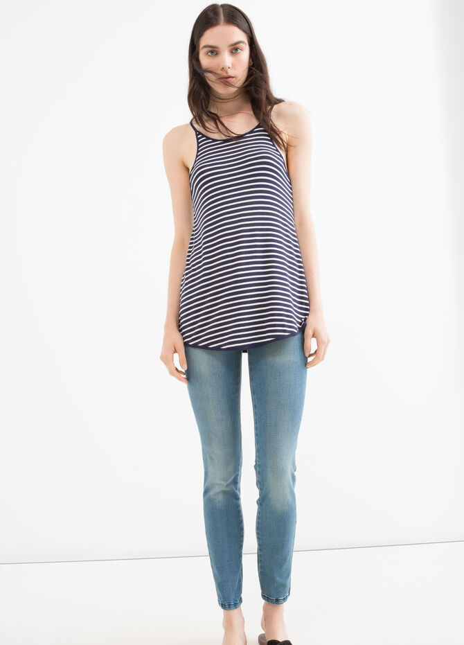 Jeans push up stretch