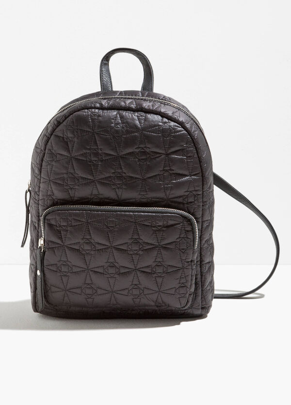 Backpack with stitching and zip | OVS