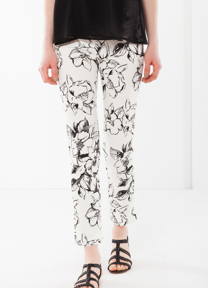 Stretch Capri pants image number null