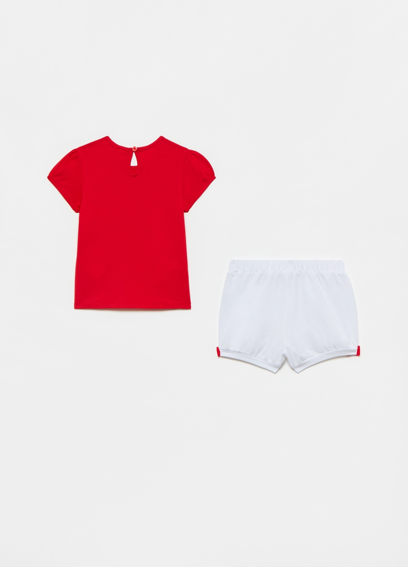 Short jogging set with Disney Baby Minnie Mouse print image number null