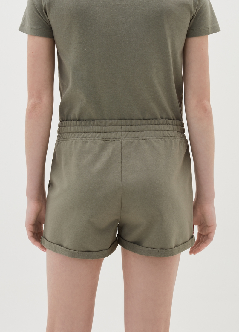 Organic French terry shorts image number null