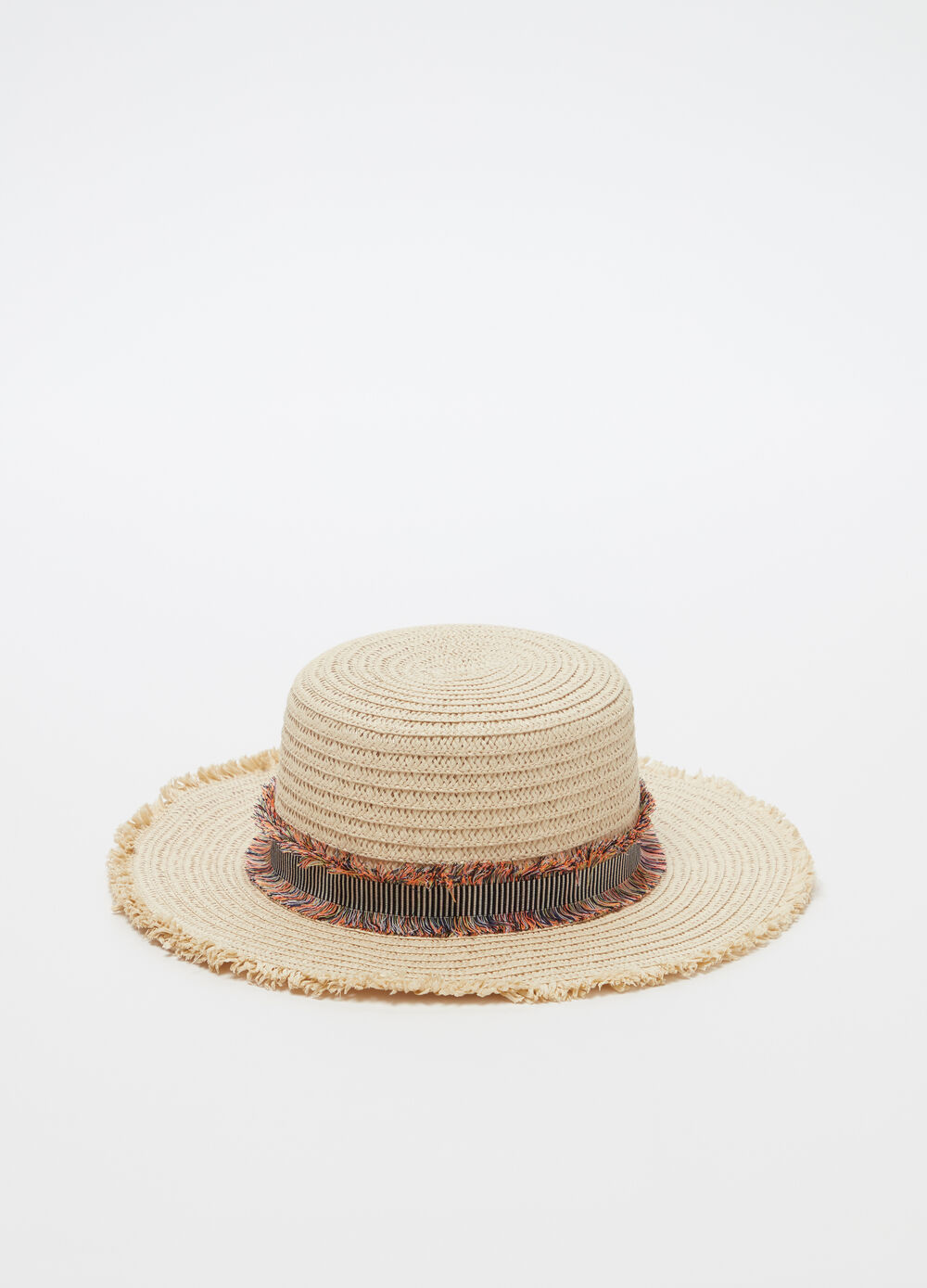 Gondolier-model hat with strap