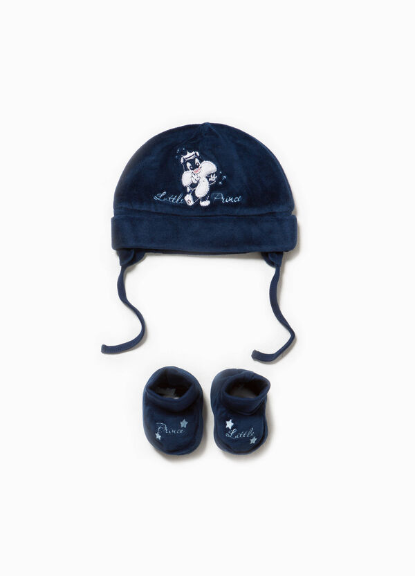 Baby Sylvester hat and shoes set | OVS