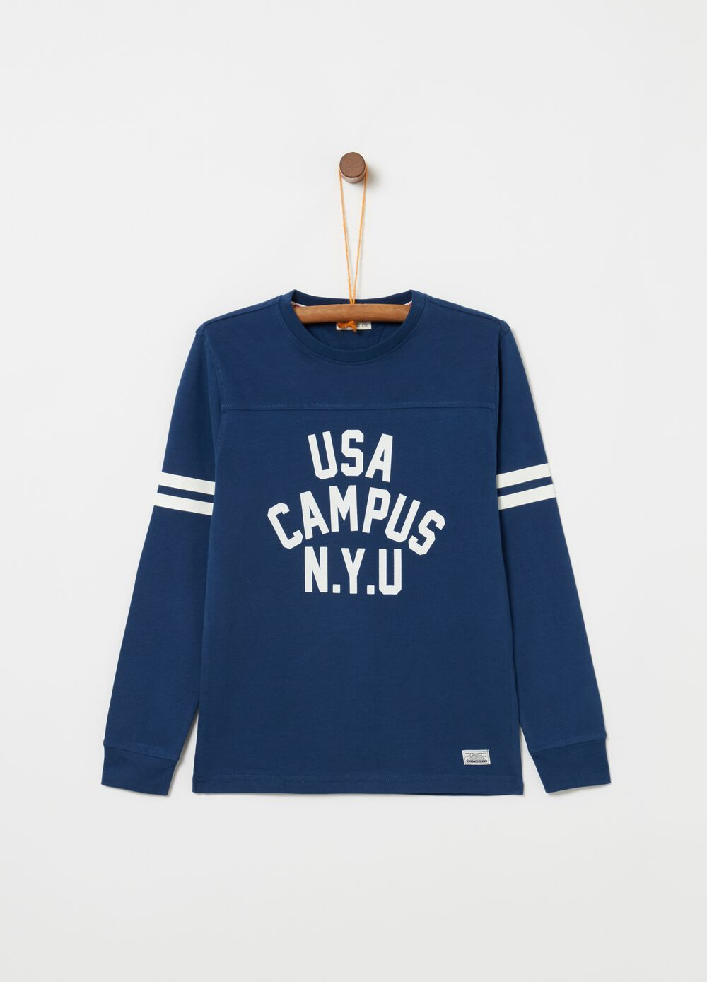 T-shirt in 100% cotton with USA print