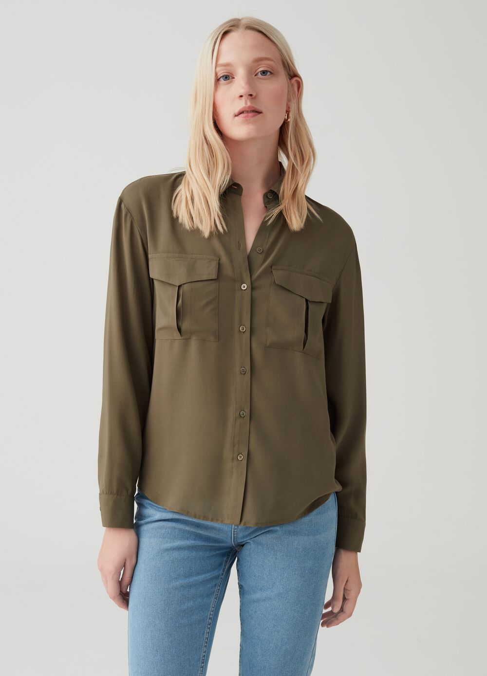 buy online eed69 5aad6 Camicie Casual Donna online - Nuova Collezione | OVS