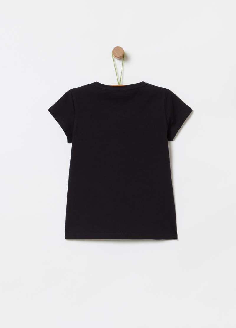 T-shirt in cotone bio stretch image number null