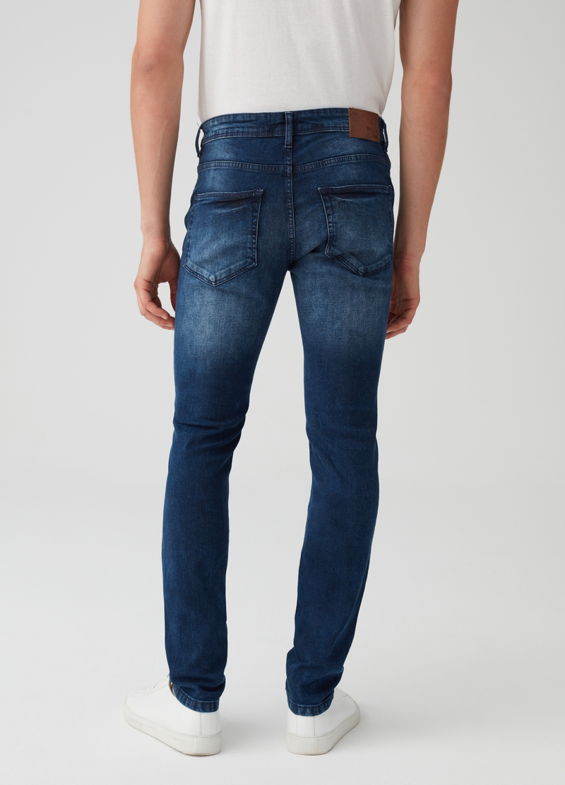 Jeans skinny fit stretch delavato image number null