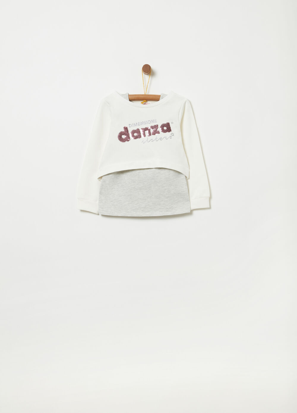 Dimensione Danza tracksuit with sweatshirt and top