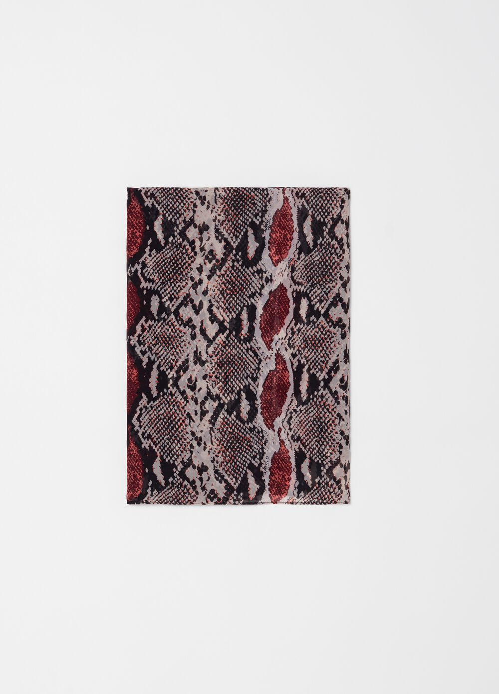 Animal patterned pashmina