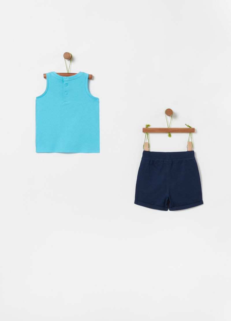 Jogging set with goldfish print image number null