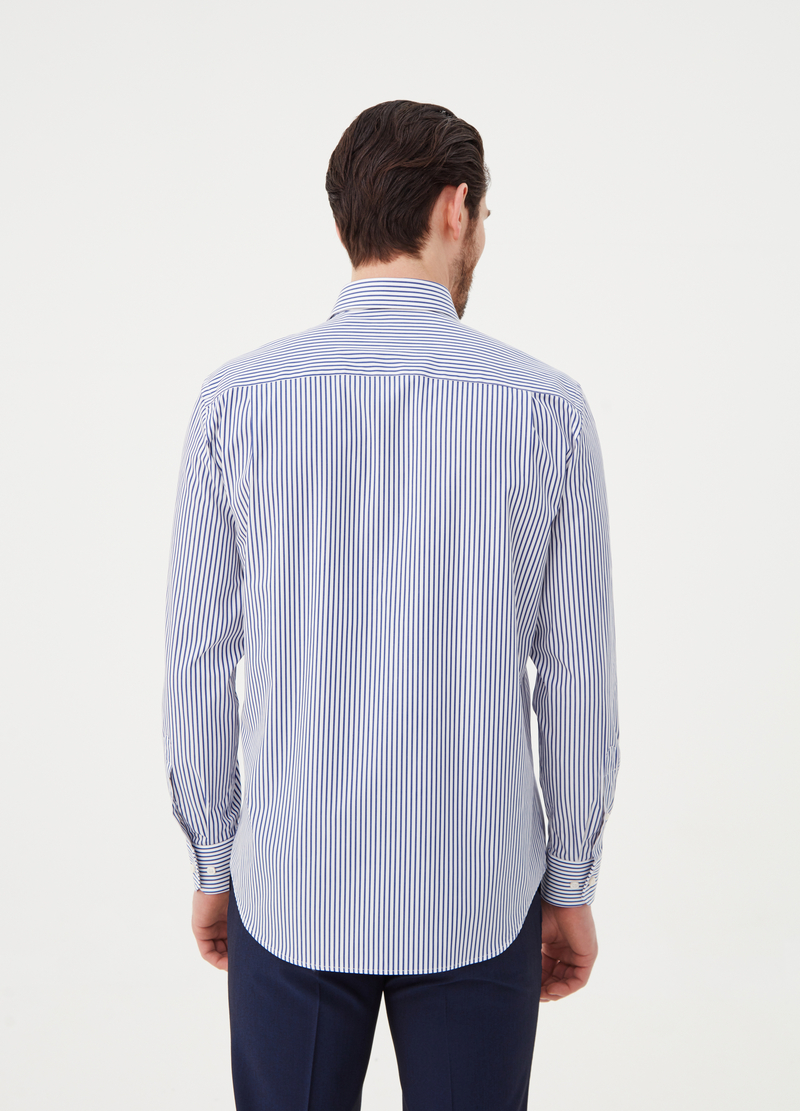 Regular-fit, striped shirt image number null
