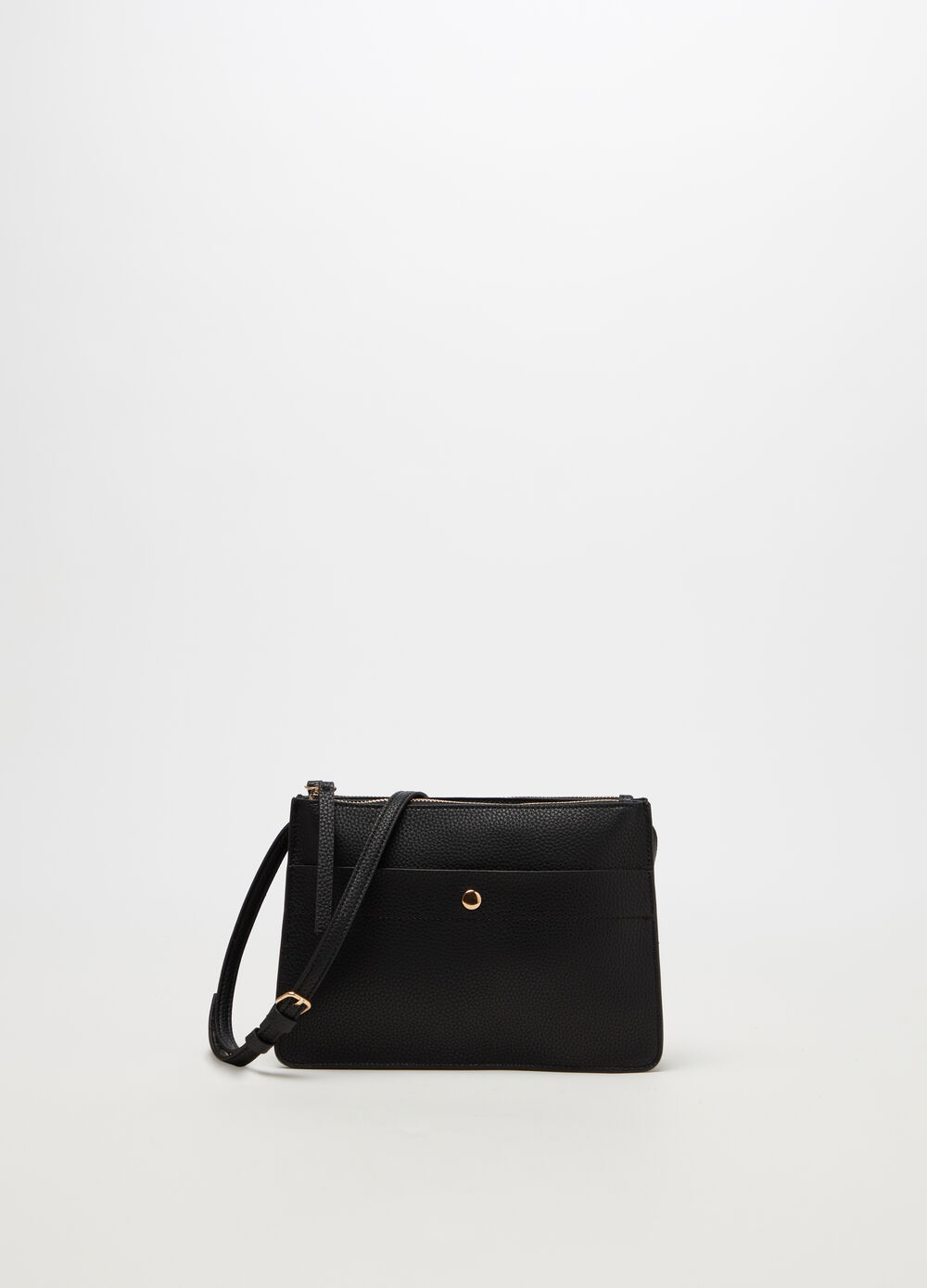 Shoulder bag with two compartments