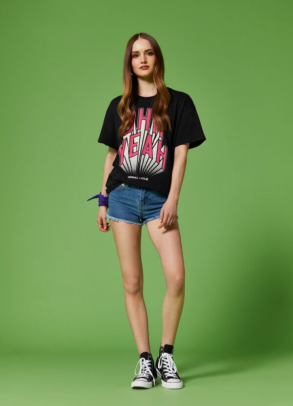 K+K for OVS long cotton T-shirt