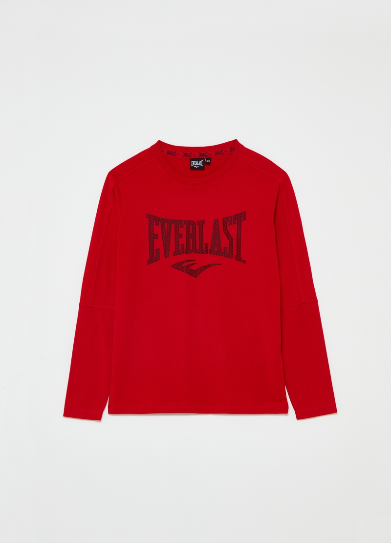 Solid colour Everlast T-shirt with round neck image number null