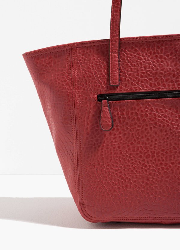 Shopping bag effetto martellato | OVS