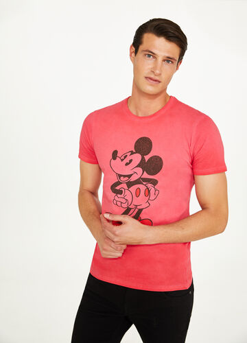 Mickey Mouse misdyed cotton T-shirt