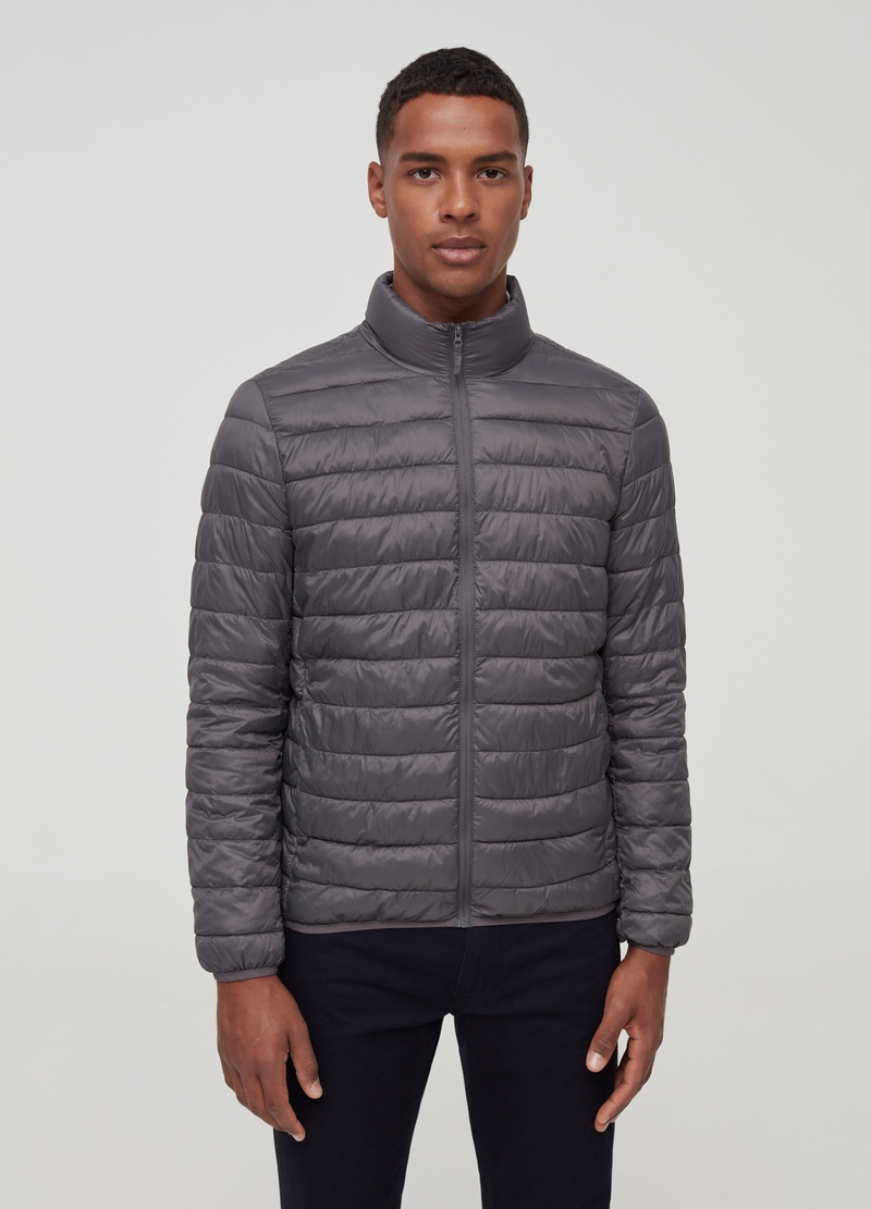 Ultralight down jacket with high neck image number null