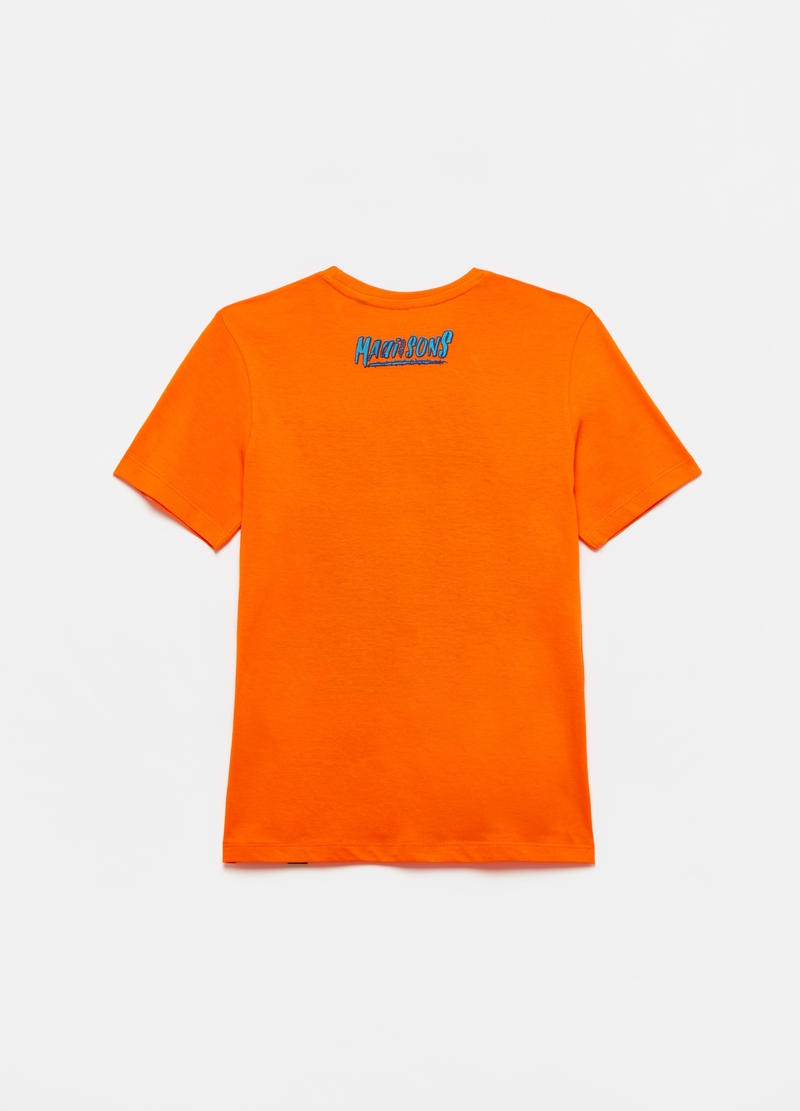 T-shirt stampa lettering Maui and Sons image number null