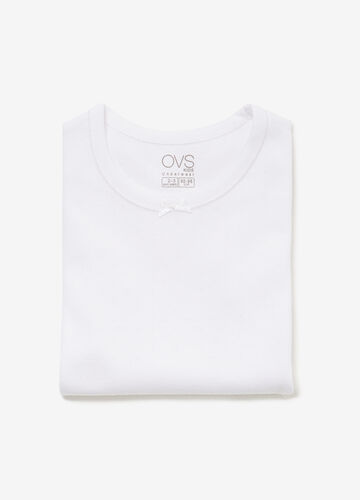 100% cotton undershirt with micro weave