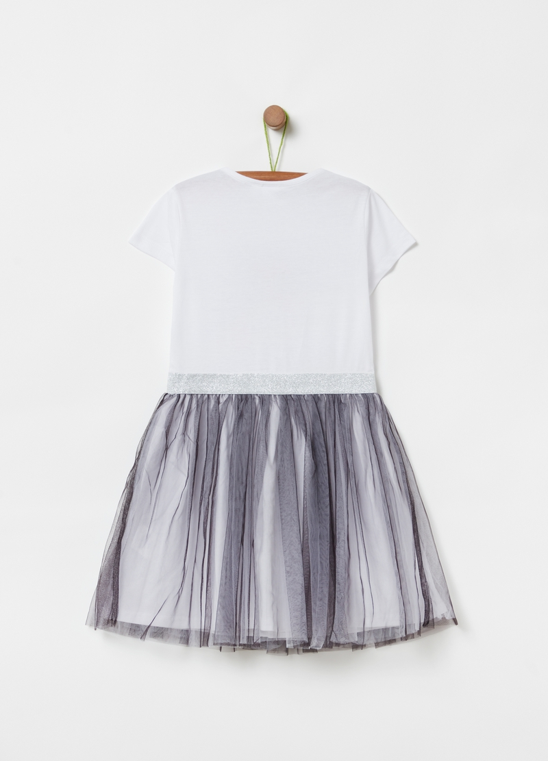 Outfit with tulle insert and LOL print image number null