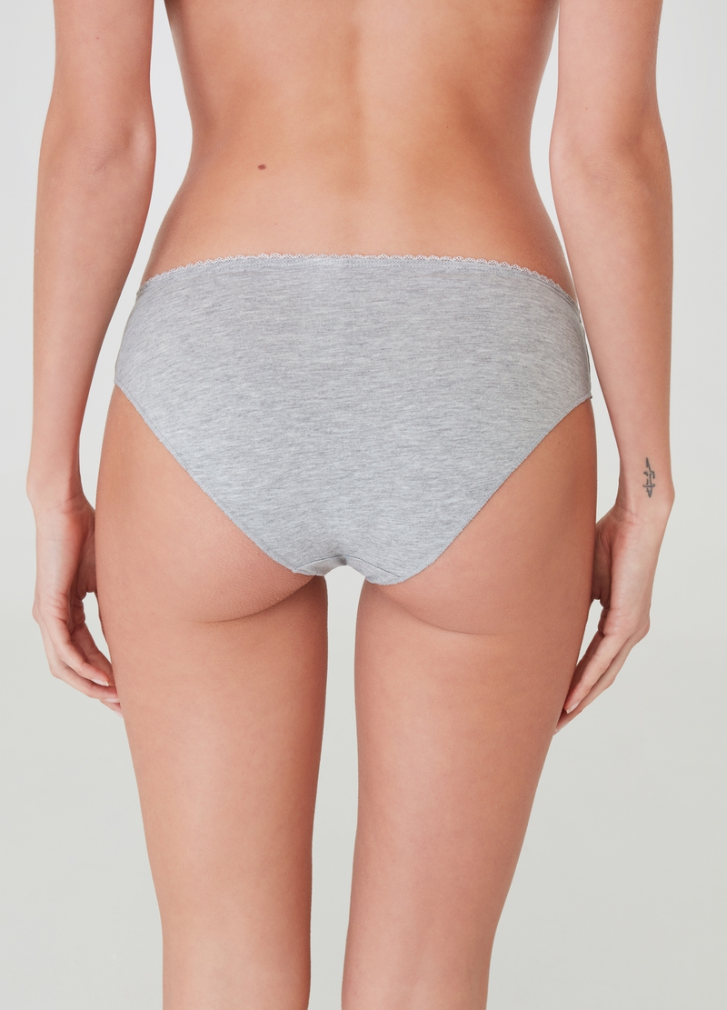 Five-pack stretch organic cotton briefs image number null