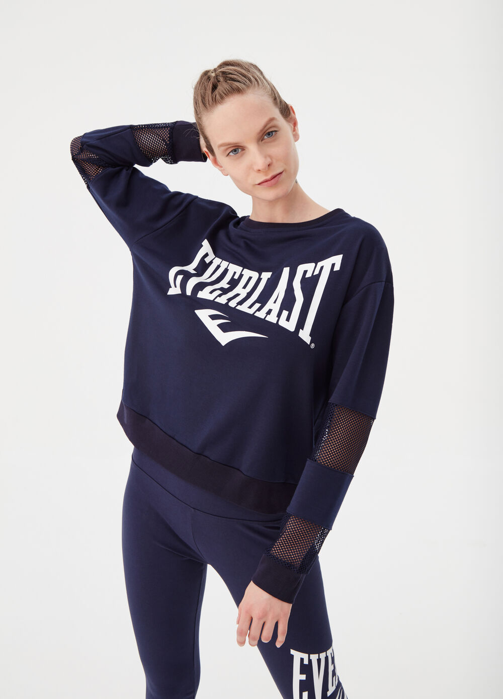 Everlast sweatshirt with openwork inserts