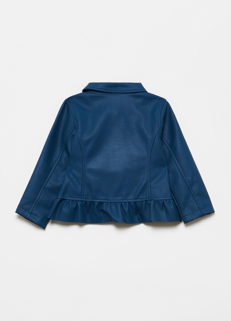 Full-zip jacket with frills image number null