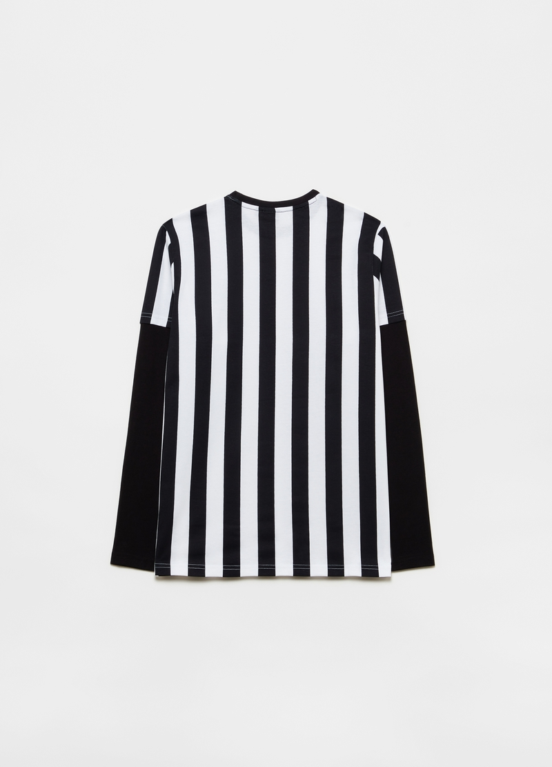 Long-sleeved T-shirt with Juventus print image number null