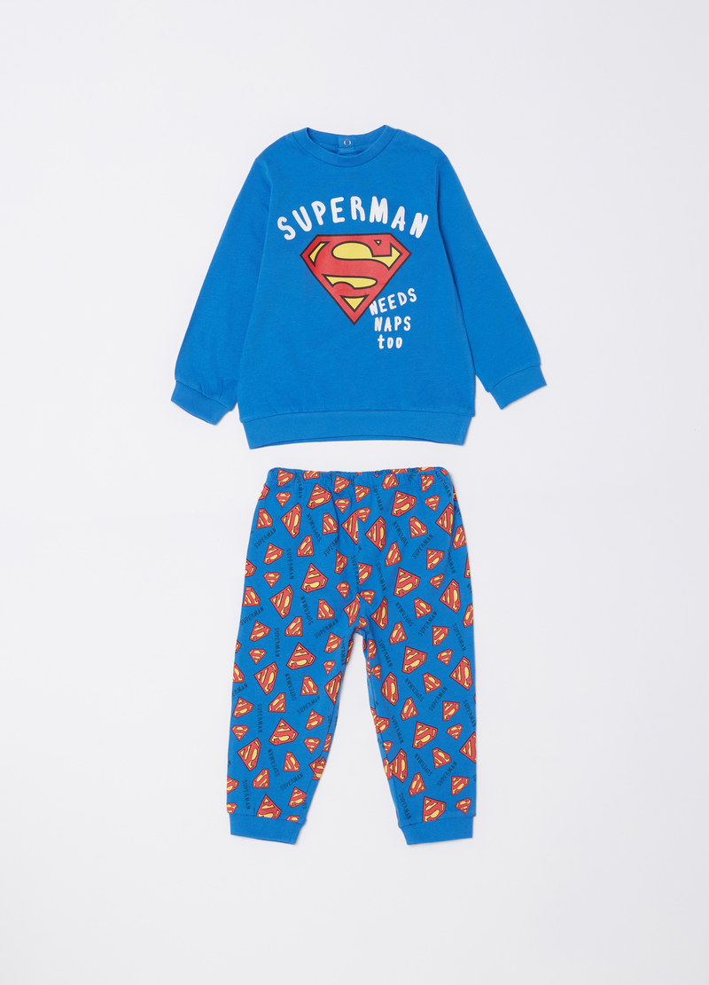 100% cotton Superman pyjamas image number null