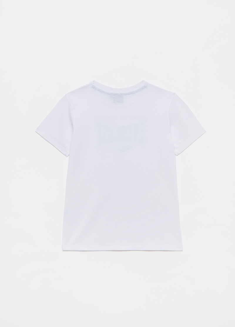 T-shirt in cotone con logo Everlast image number null