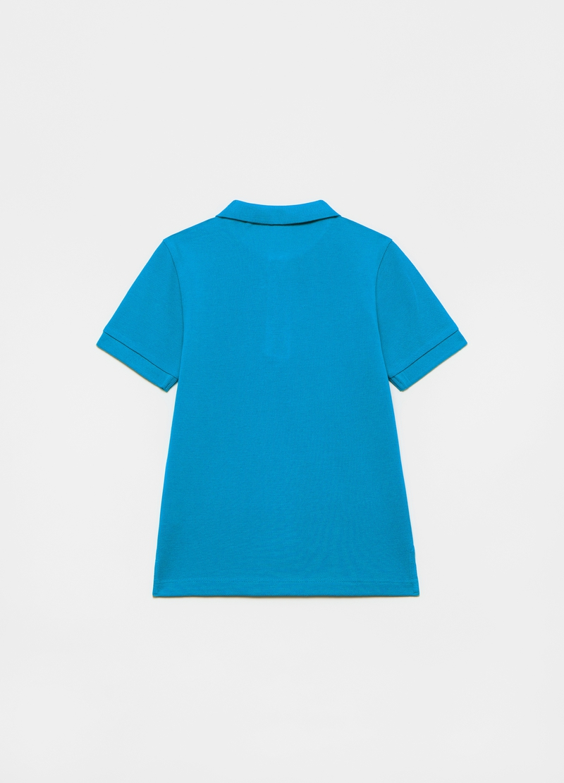 Polo in cotone piquet image number null