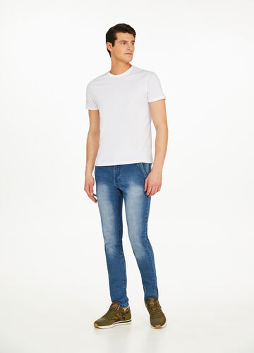 Jeans slim fit stretch delavati