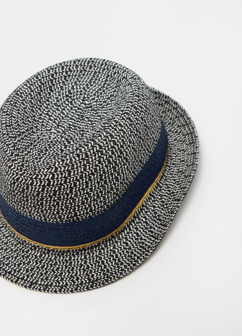 Straw hat with insert image number null