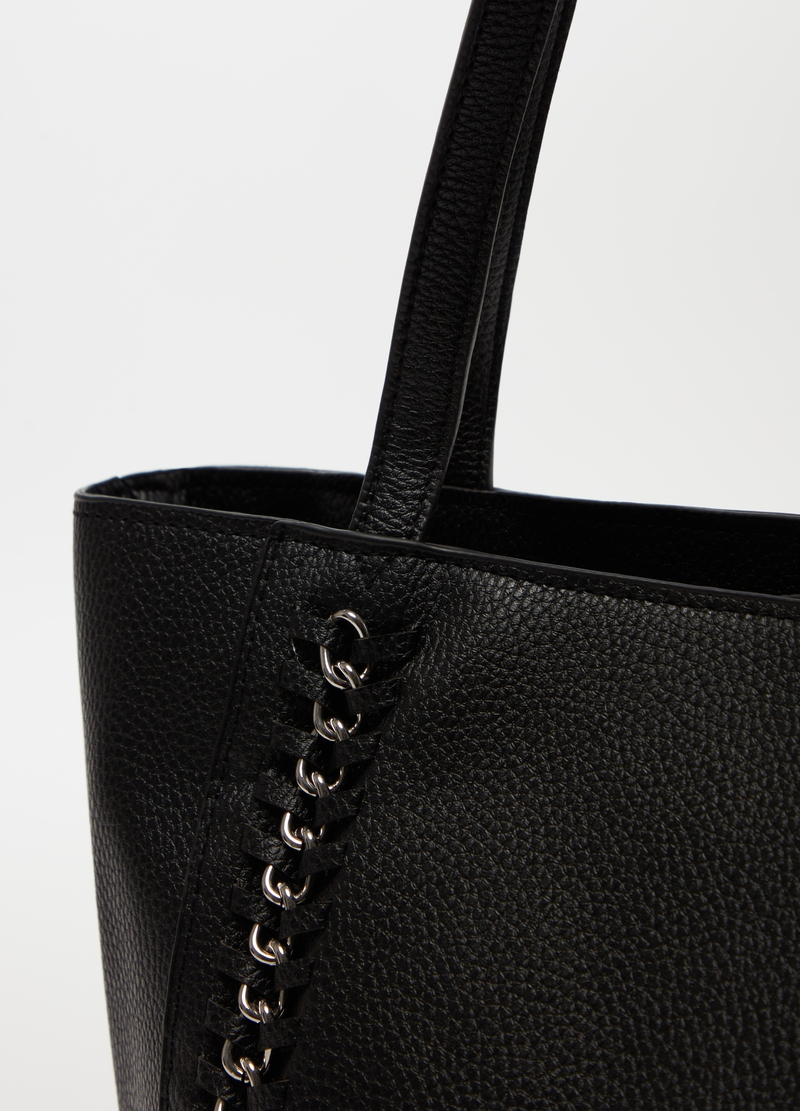 Handbag with chain inserts image number null