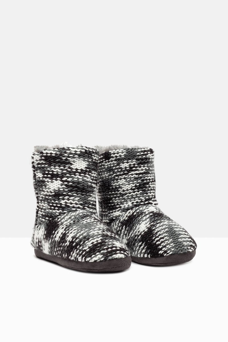 Pantofole stivaletto tricot image number null