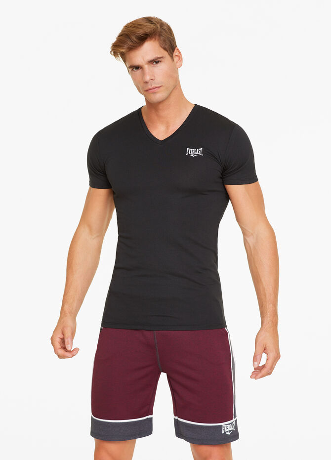T-shirt misto cotone stretch Everlast