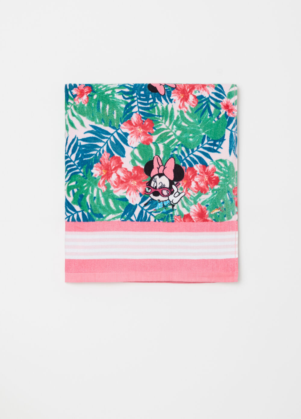 Disney Baby Minnie Mouse floral beach towel
