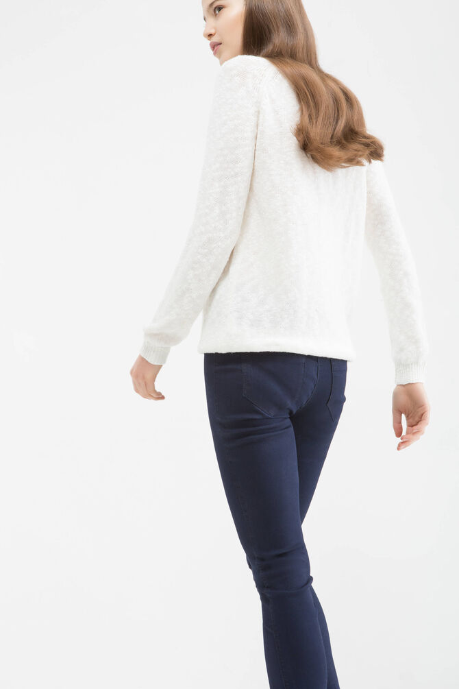 Stretch cotton blend jeggings